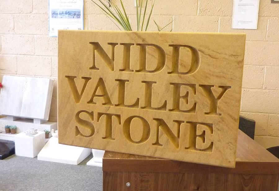 Stone lettering and traditional carving